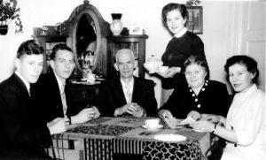 1950 ca Fam vd Heijden - Couwenberg en kinderen