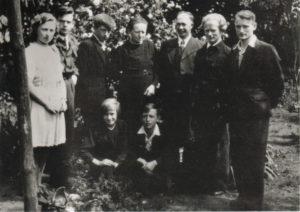 Familie Jan en Cor van der Heijden - ca 1965